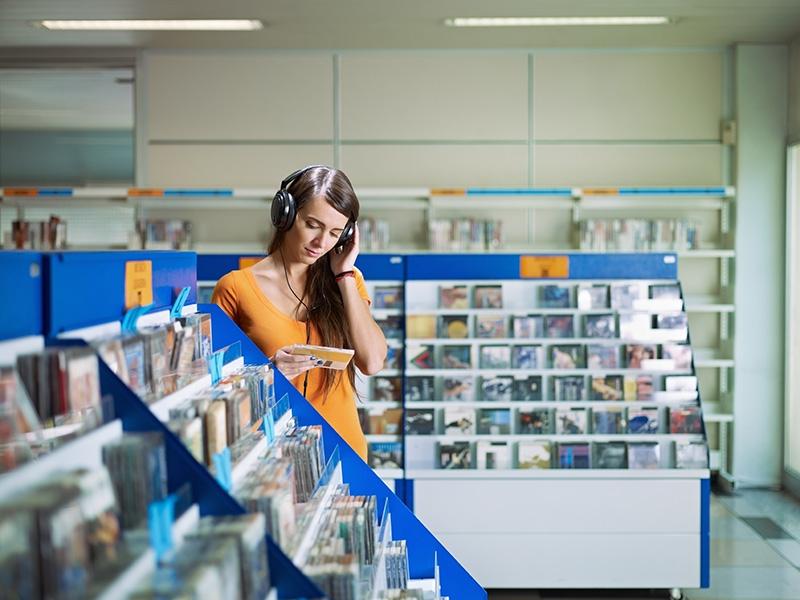 Música na loja ajuda a vender mais