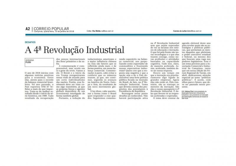 O desafio da 4ª Revolução Industrial