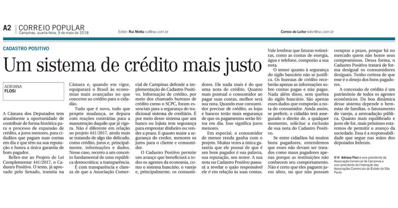 Cadastro Positivo: Um sistema de crédito mais justo