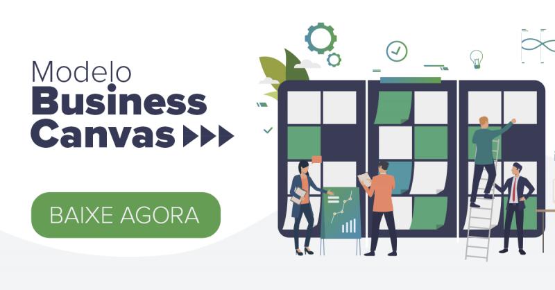 A visualização do seu negócio em uma página! (Business Canvas)
