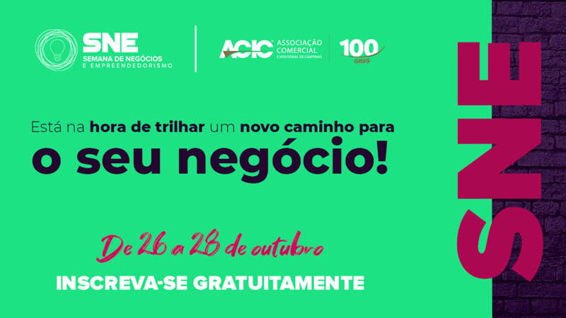 ACIC realiza evento 100% online para impulsionar a cultura empreendedora