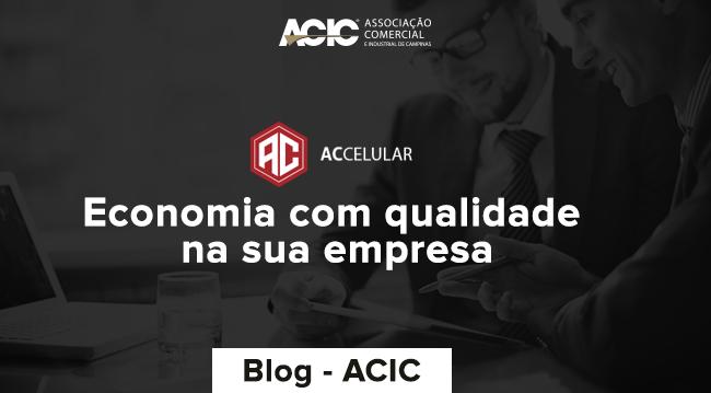 AC CELULAR: Economia com qualidade na sua empresa