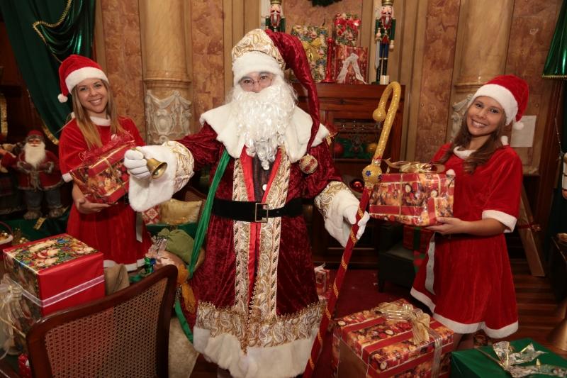 Papai Noel da ACIC chega nessa terça-feira em Campinas