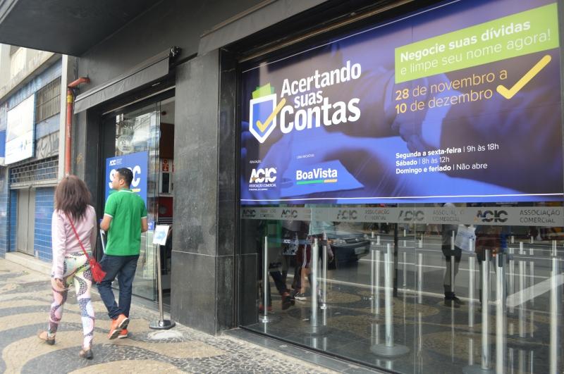Campanha da ACIC para renegociar dívidas impacta cerca de 7.700 pessoas