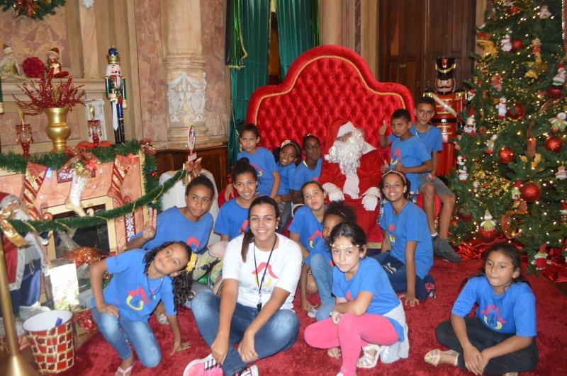 Palácio do Papai Noel bate recorde de público