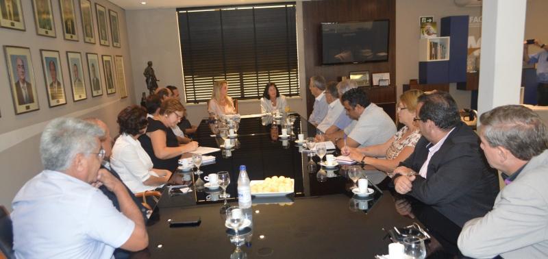 Associações da região de Campinas se reúnem com deputada Célia Leão