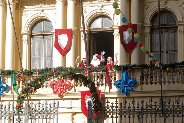 Papai Noel chega nesta sexta-feira em Campinas