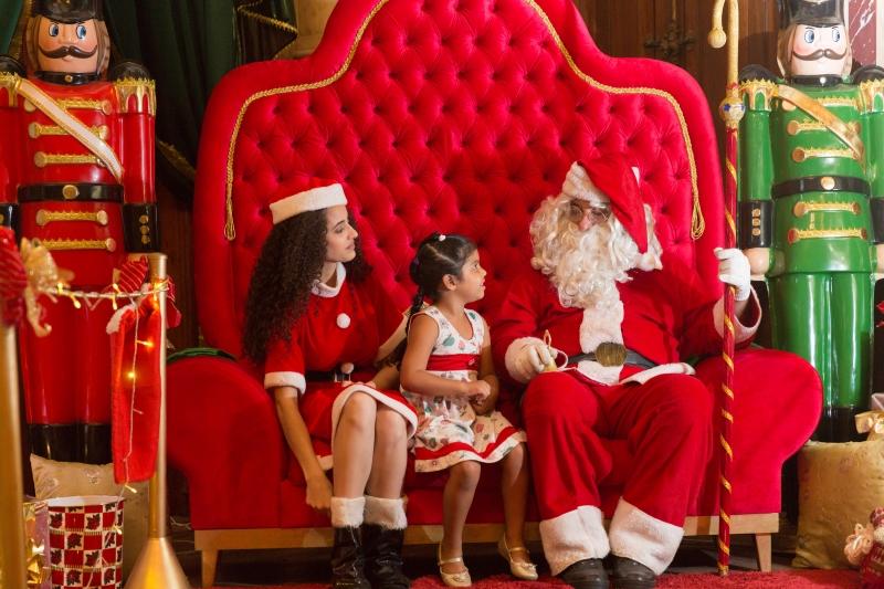 Palácio do Papai Noel está aberto para visitações