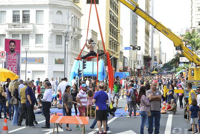 Projeto Viva Glicério leva atrações e mais público ao Centro no Domingo