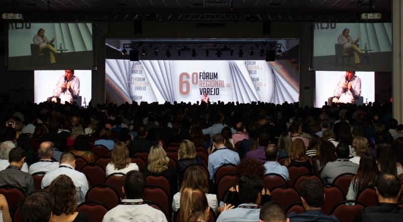 Fórum Regional do Varejo reúne 2,1 mil pessoas