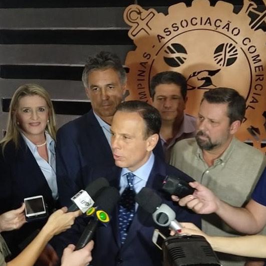 ACIC recebe empresários para um encontro com o candidato João Doria