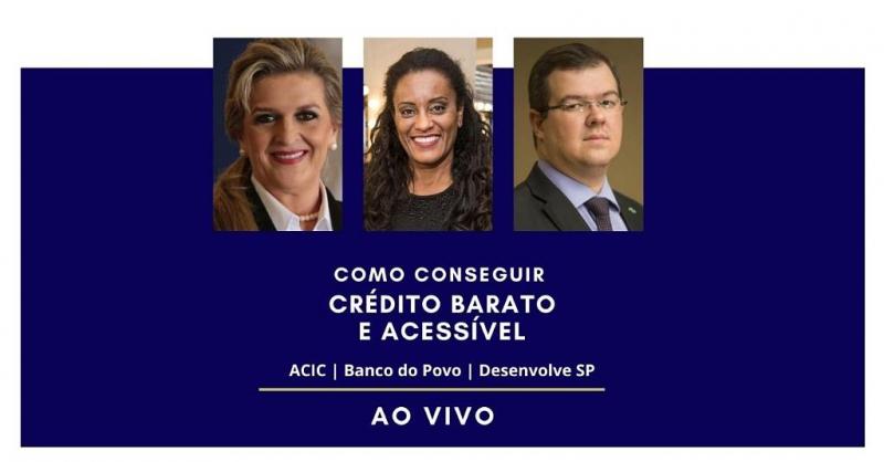 ACIC esclarece sobre linhas de crédito para autônomos, micro, pequenos e médios empresários